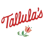 This is the restaurant logo for Tallula's