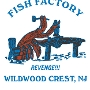 Restaurant logo for The Fish Factory