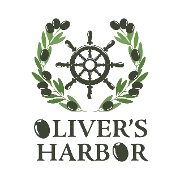 This is the restaurant logo for Oliver's Harbor Restaurant and Bar