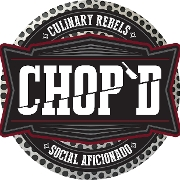 This is the restaurant logo for CHOP'D