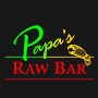 Restaurant logo for Papa's Raw Bar