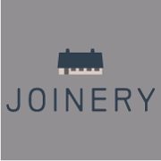 This is the restaurant logo for Joinery