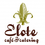 This is the restaurant logo for Elote Cafe & Catering