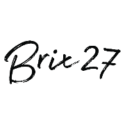 This is the restaurant logo for Brix27