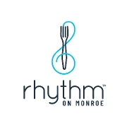 This is the restaurant logo for Rhythm on Monroe