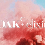 This is the restaurant logo for Oak + Elixir