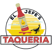 This is the restaurant logo for El Jefe's Taqueria (Boston common)