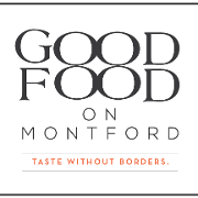 This is the restaurant logo for Good Food on Montford
