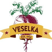 This is the restaurant logo for Veselka