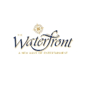 This is the restaurant logo for The Waterfront