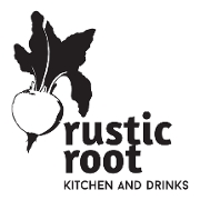 This is the restaurant logo for Rustic Root