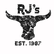 This is the restaurant logo for RJ's Sizzlin Steer