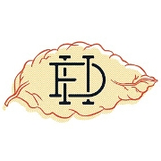 This is the restaurant logo for Auctioneer Bar & Small Maker Retail