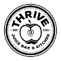 Restaurant logo for THRIVE JUICE BAR & KITCHEN