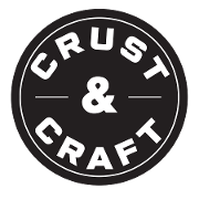 This is the restaurant logo for Crust and Craft