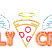 This is the restaurant logo for Holy Crust