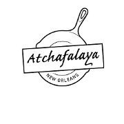 This is the restaurant logo for ATCHAFALAYA