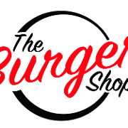 This is the restaurant logo for The Burger Shop