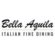 This is the restaurant logo for Bella Aquila Restaurant