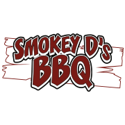This is the restaurant logo for Smokey D's BBQ
