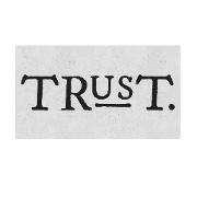 This is the restaurant logo for Trust Restaurant
