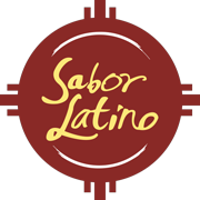 This is the restaurant logo for Sabor Latino