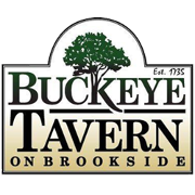 This is the restaurant logo for Buckeye Tavern