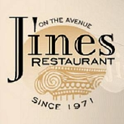 This is the restaurant logo for Jines Restaurant