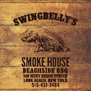 This is the restaurant logo for Swingbellys