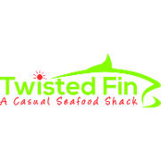 This is the restaurant logo for Twisted Fin