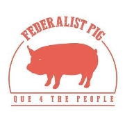 This is the restaurant logo for Federalist Pig