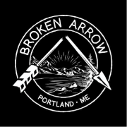 This is the restaurant logo for Broken Arrow