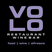 This is the restaurant logo for Volo Restaurant Wine Bar