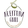 This is the restaurant logo for Aceituna Grill