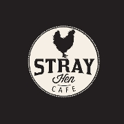 This is the restaurant logo for Stray Hen Cafe