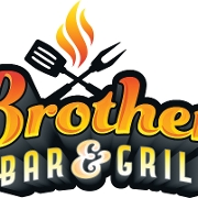 This is the restaurant logo for Brothers Bar & Grill