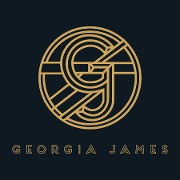 This is the restaurant logo for Georgia James