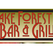 This is the restaurant logo for Lake Forest Bar and Grill