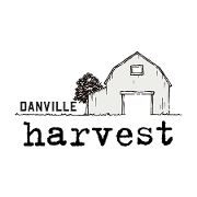 This is the restaurant logo for Danville Harvest