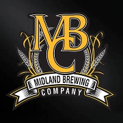 This is the restaurant logo for Midland Brewing Company