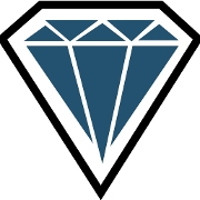 This is the restaurant logo for Diamond Point GO