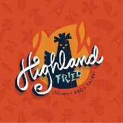 This is the restaurant logo for Highland Fried