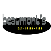 This is the restaurant logo for Beaumont's Neighborhood Eatery