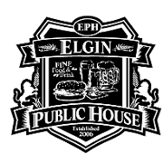 This is the restaurant logo for Elgin Public House