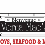 This is the restaurant logo for Verna Mae's