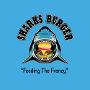 Restaurant logo for Sharks Burger