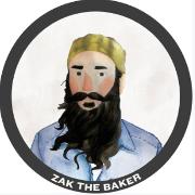 This is the restaurant logo for Zak the Baker