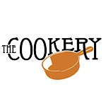 This is the restaurant logo for The Cookery