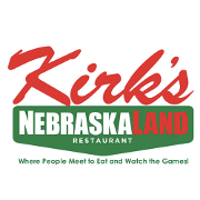 This is the restaurant logo for Kirk's Nebraskaland Restaurant