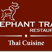 This is the restaurant logo for The Elephant Trail - Avon